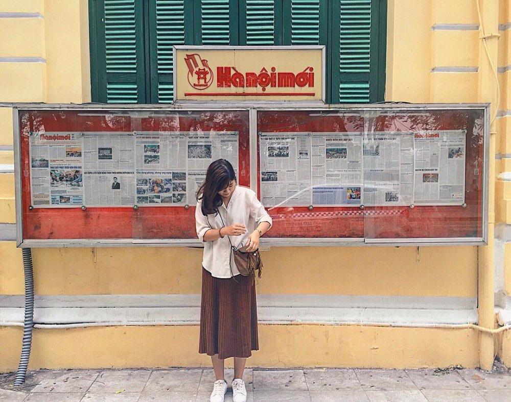 Những địa điểm chụp ảnh đẹp miễn phí ở Hà Nội mới nhất 2020
