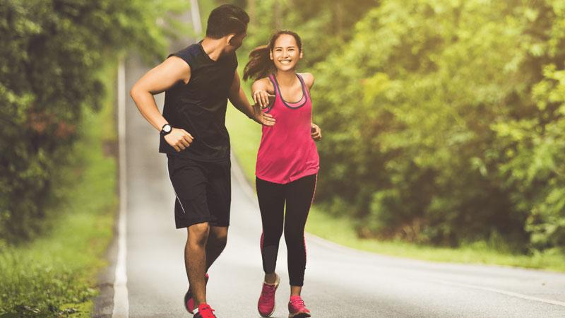 Luyện tập thể thao giúp cơ thể khỏe mạnh và giảm tình trạng béo phì.