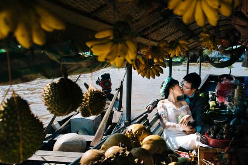 6 địa điểm chụp ảnh cưới đẹp mê đắm tại miền Tây - hình ảnh 4