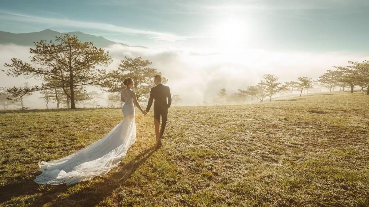 Cách phối đồ chụp cưới Đà Lạt tốt nhất