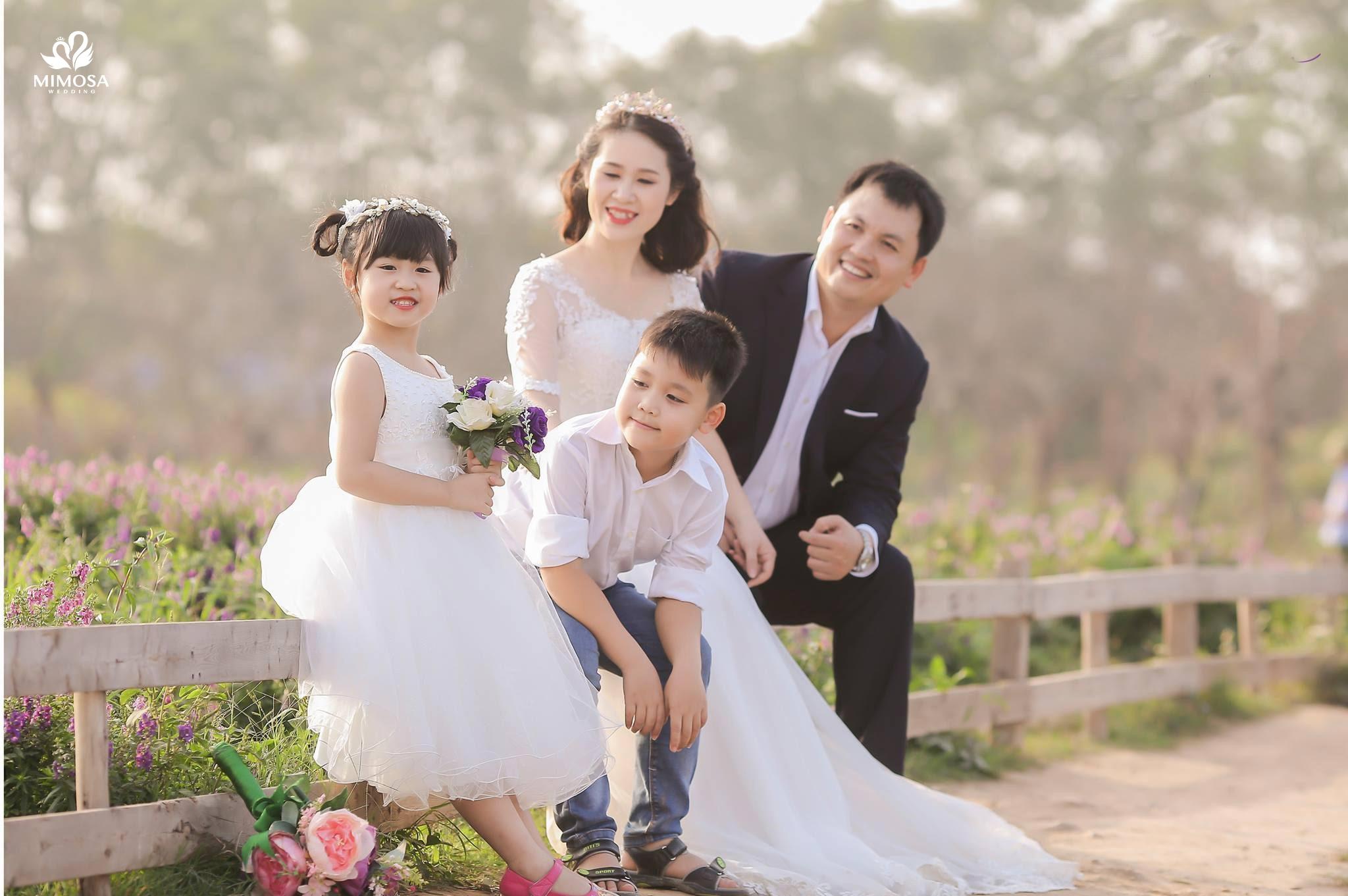 Chụp ảnh gia đình kiểu Hàn Quốc : Bí quyết tạo bức hình Siêu Đẹp