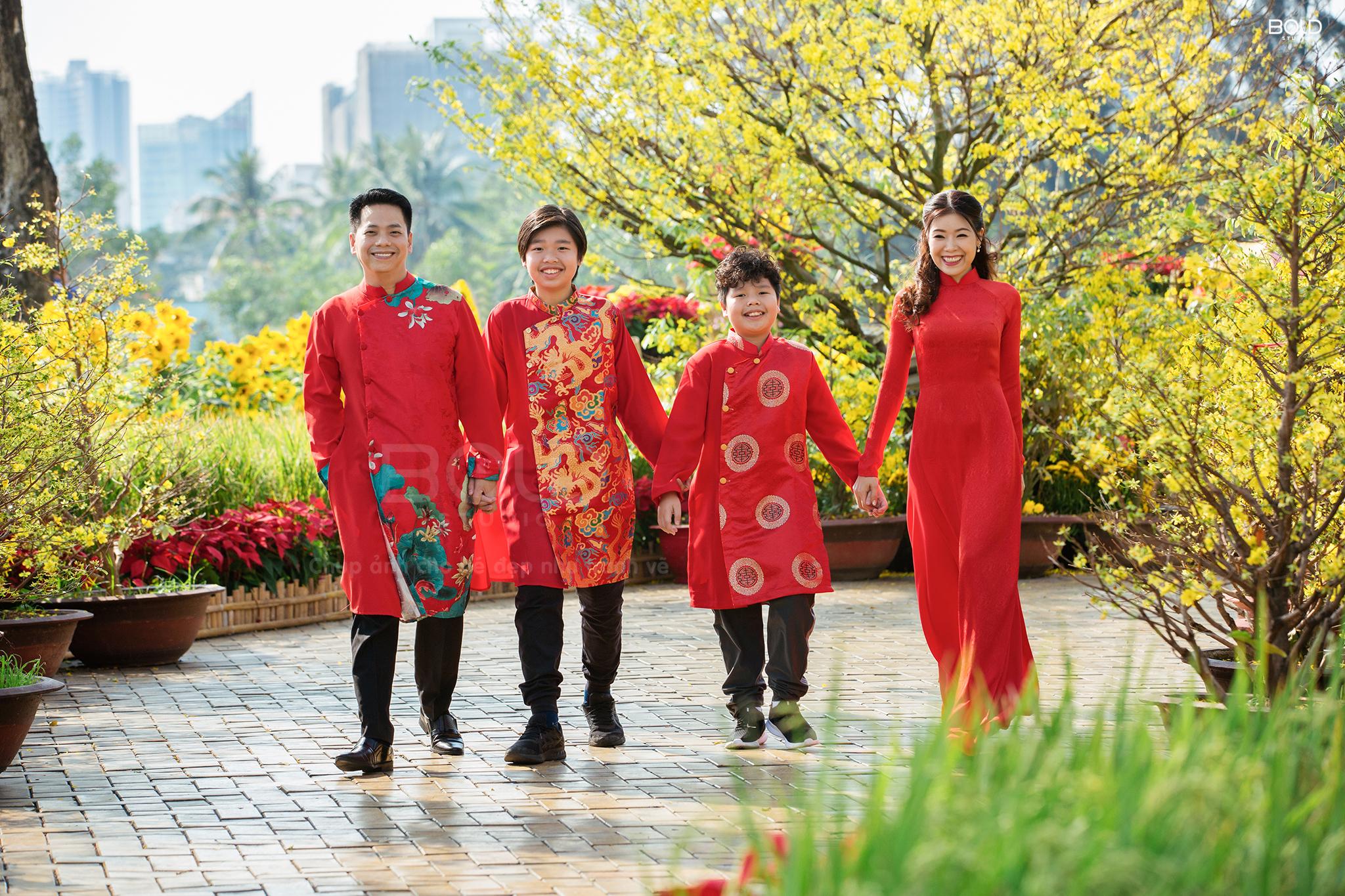 Chụp ảnh gia đình chị Song Thy - BOLD STUDIO