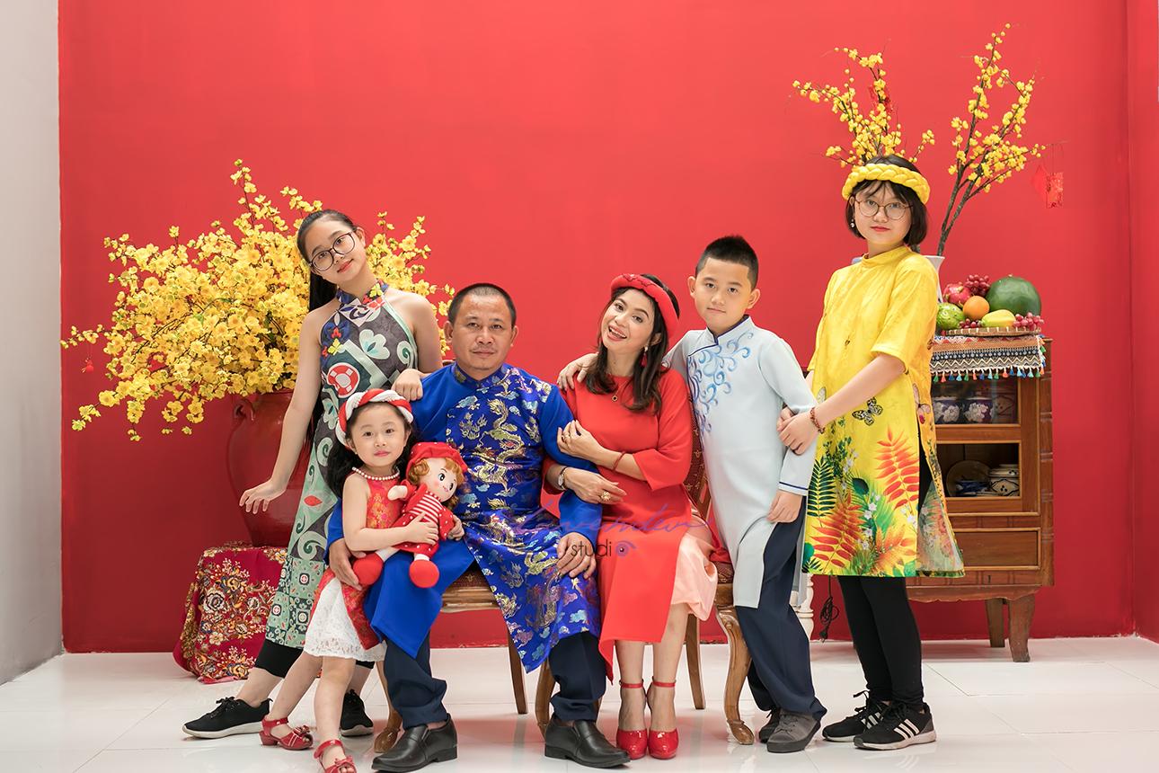 Kinh nghiệm chụp hình gia đình Tết tốt nhất