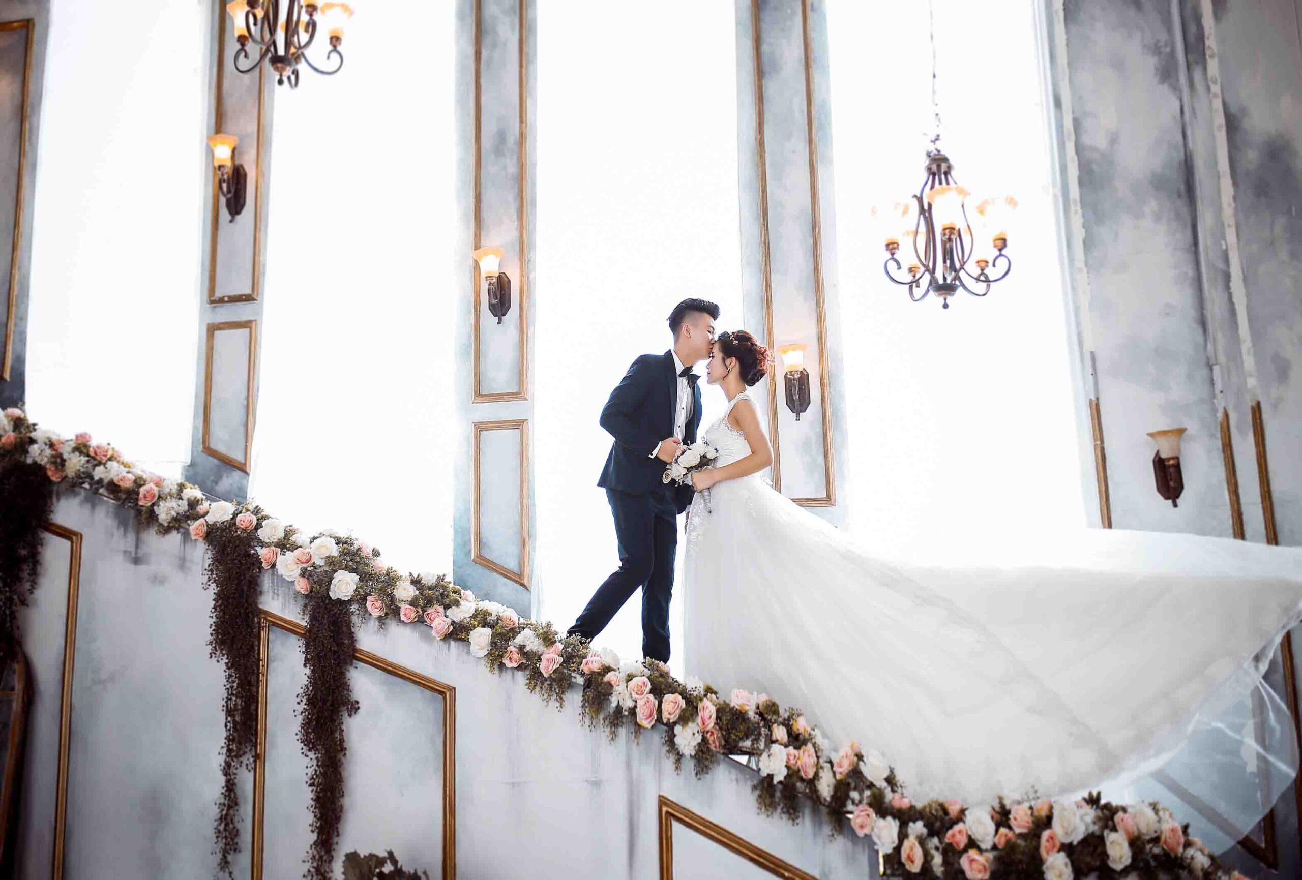 Kinh nghiệm từ A-Z chụp ảnh cưới tại phim trường cực đẹp - Nicole Bridal