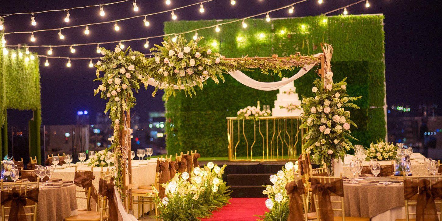 Kinh nghiệm tổ chức đám cưới ngoài trời từ A đến Z - TDG CENTER - Trung Tâm  Hội Nghị & Nhà Hàng Tiệc Cưới