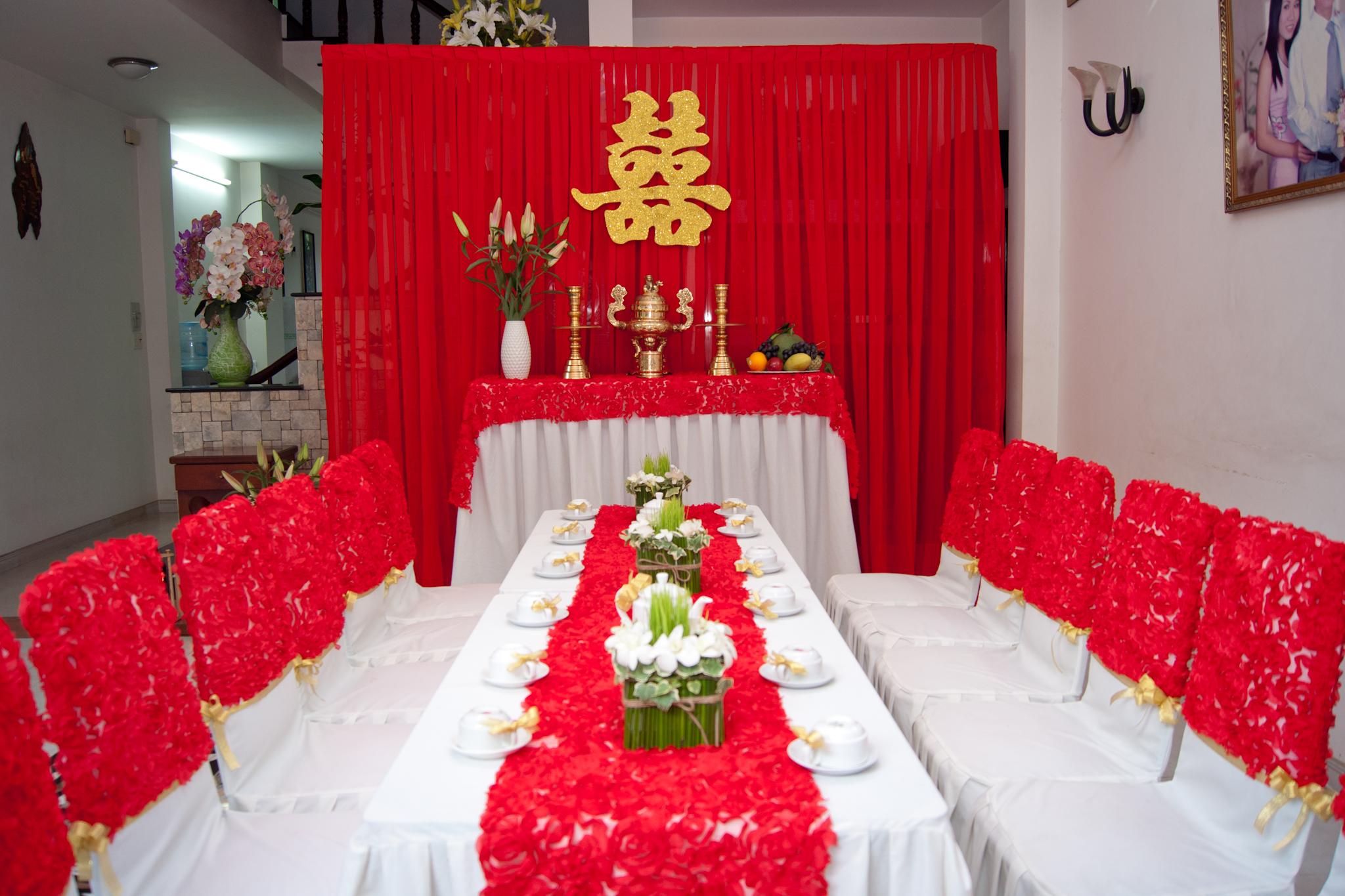 Trang trí cưới hỏi - Dịch Vụ Trang Trí Nhà Ngày Cưới Lily